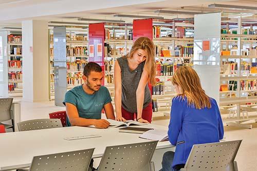 bibliotheque saint paul etudiants