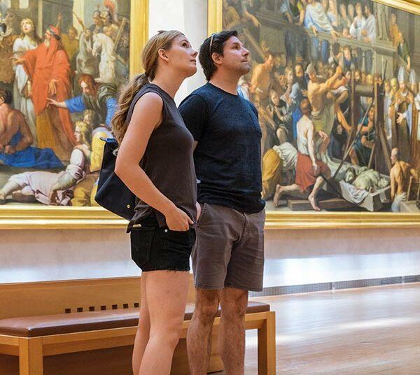 etudiant international au musée des beaux arts de lyon