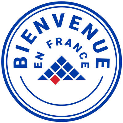 label bienvenue en france