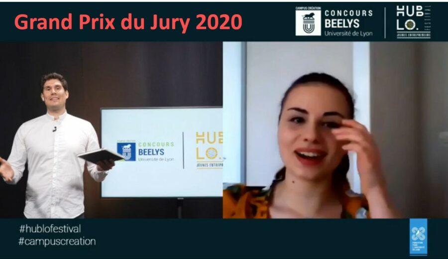 Gd prix du jury Campus Création 2020